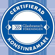 certifierad konstinramare logo